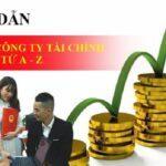 hướng dẫn thành lập công ty tài chính