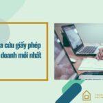 Tra cứu giấy phép đăng ký kinh doanh